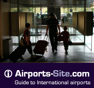 All airport services listed : Accommodations, car rental agencies, ground transfer service, parking and lounges